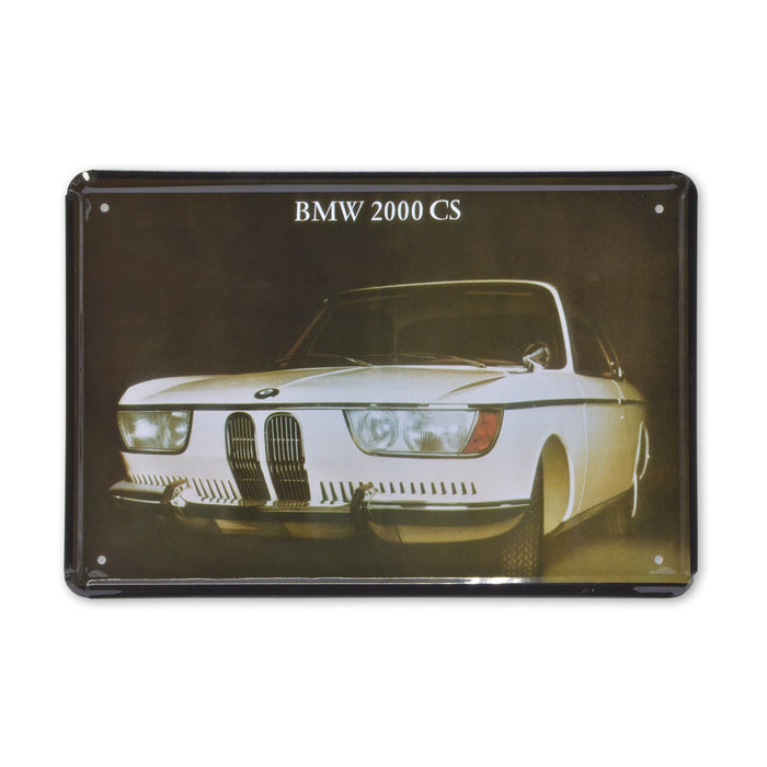 BMW 200 CS Metal Sign Car Tin Print Medium