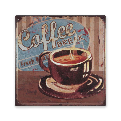 Medium Tin Sheet Graphic Print - Coffee Break | That Bloke