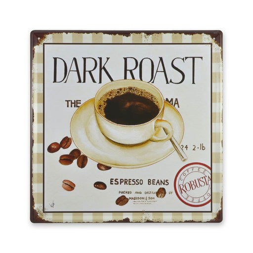 Medium Tin Sheet Graphic Print - Dark Roast Coffee | That Bloke