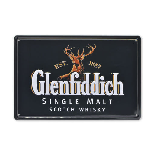 Medium Tin Sheet Graphic Print - Glenfiddich Scotch Whisky