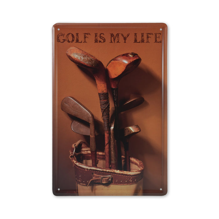 Medium Tin Sheet Graphic Print - Golf Is My Life | That Bloke