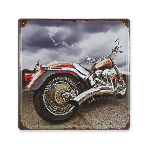 Harley Davidson Motorcycle Metal Sign Thunder Medium
