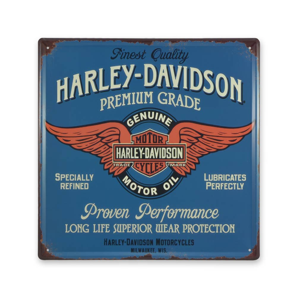 Medium Tin Sheet Graphic Print - Harley Davidson Motorcycles Premium Grade | That Bloke