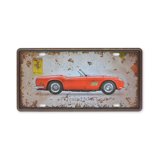 Ferrari 250 GT California Spyder Metal Sign Small