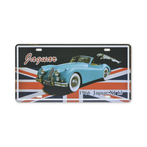 1966 Jaguar XJ 13 Metal Sign Classic Car Print Small