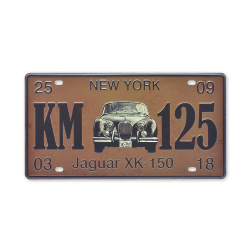Jaguar XK 150 Metal Sign Car Tin Print Small