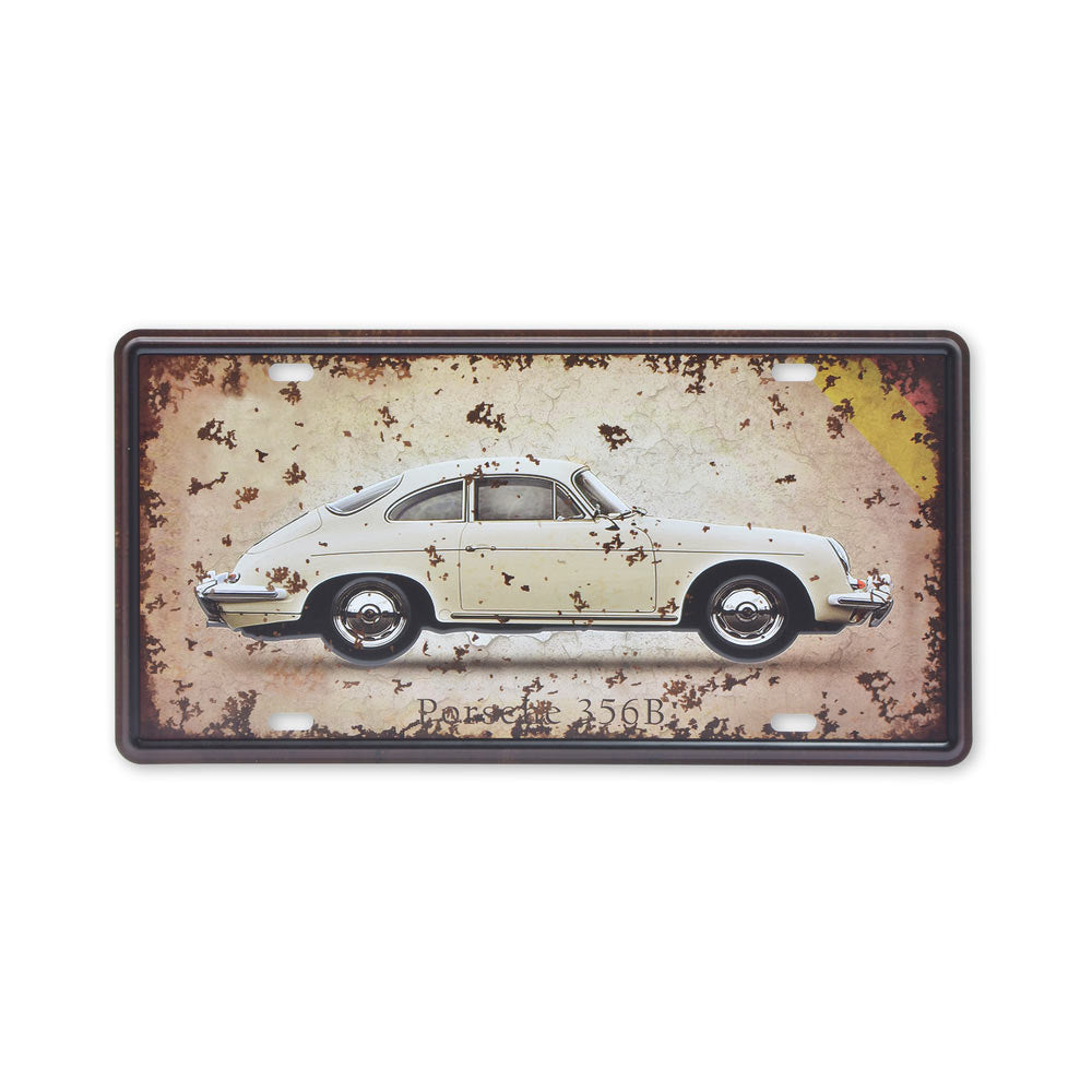 Small Tin Sheet Graphic Print - Porsche 356B