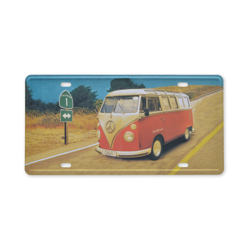 Volkswagen VW Kombi Bus Metal Sign Tin California Small