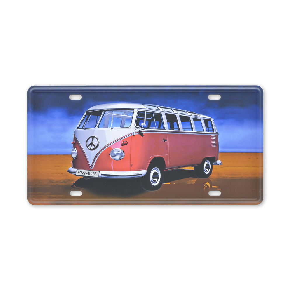 Small Tin Sheet Graphic Print - VW Kombi Bus