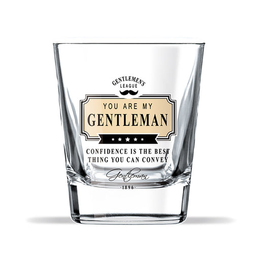 Whiskey Glass Gentleman Club Confidence Front