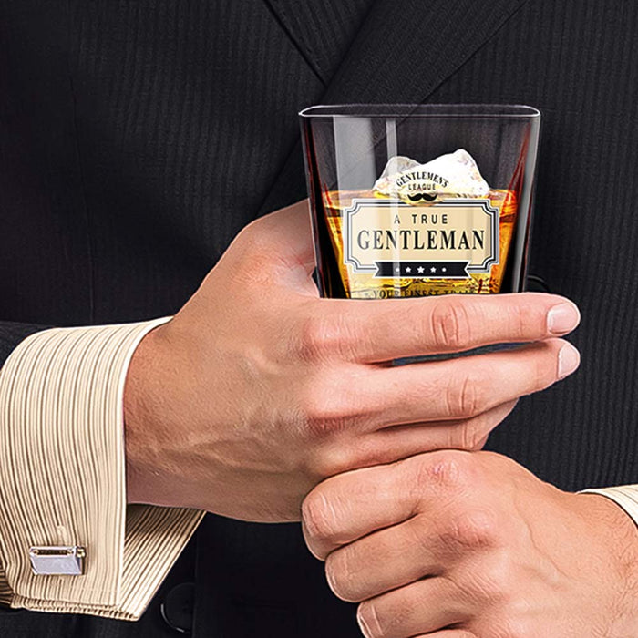 Whiskey Glass Gentleman Club In Hand