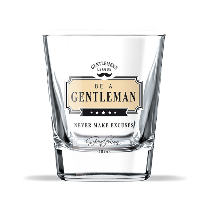 Whiskey Glass Gentleman Club Never Make Excuses