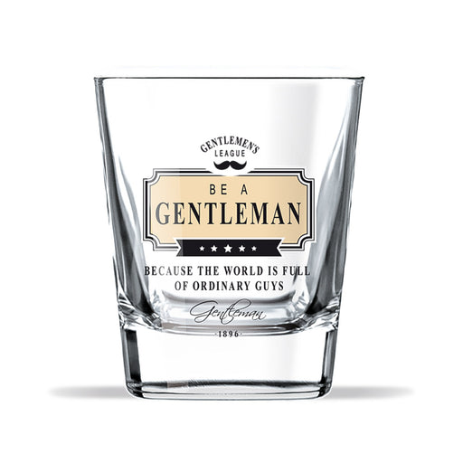 Whiskey Glass Gentleman Club Ordinary Guys Front