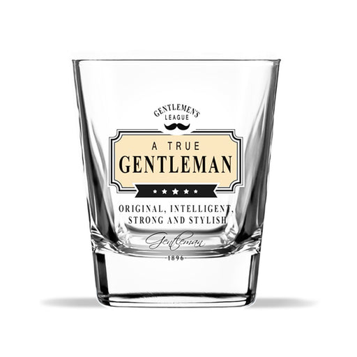 Whiskey Glass Gentleman Club Original Intelligent Strong Front