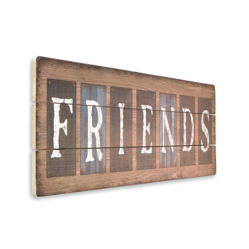 Friends Hanging Wood Sign | That Bloke