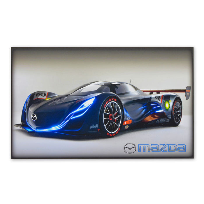 Mazda Furai Sports Car Concept Wood Block Print Sign Image