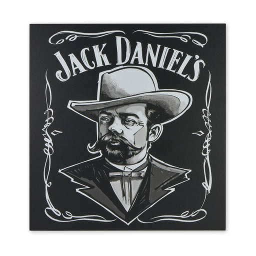 Medium Wood Block Print - Jack Daniels The Man Himself | That Bloke