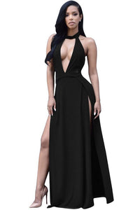 Sexy Halter Backless Club Dress