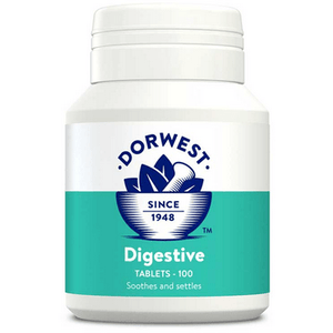 Dorwest Supplements Digestive Tablets For Dogs And Cats 100 Tablets 5 060183510289 DG100