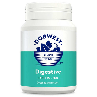 Dorwest Supplements Digestive Tablets For Dogs And Cats 200 Tablets 5 060183510296 DG200