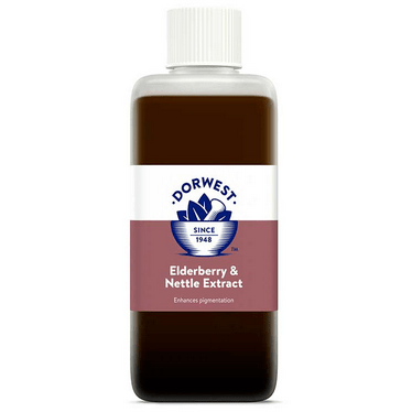 Dorwest Supplements Elderberry & Nettle Extract For Dogs And Cats 125ml 5 060183510371 EN125