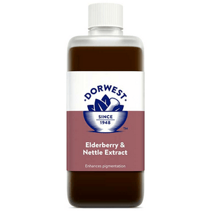 Dorwest Supplements Elderberry & Nettle Extract For Dogs And Cats 500ml 5 060183510395 EN500