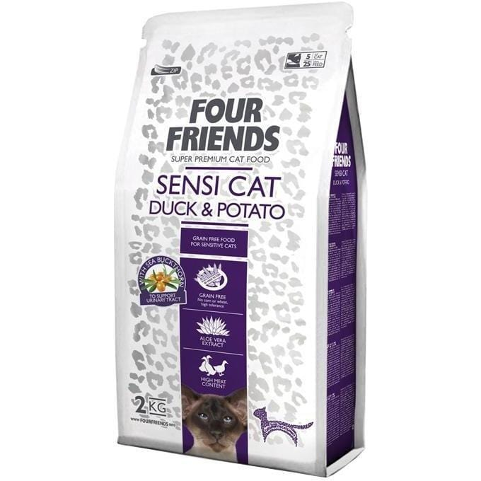 Four Friends Cat Food GRAIN FREE SENSI CAT FOOD 2 kg GRAIN FREE SENSI CF 2kg