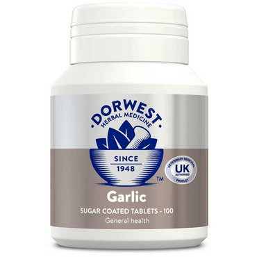 Dorwest Supplements Garlic Tablets For Dogs And Cats 100 Tablets 5 060183510005 AG100