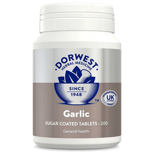Dorwest Supplements Garlic Tablets For Dogs And Cats 200 Tablets 5 060183510012 AG200