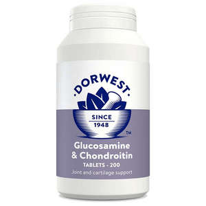 Dorwest Supplements Glucosamine & Chondroitin Tablets For Dogs And Cats Tablets 200 5 060183510463 GC200