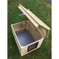 "Shedcetra Sheds Hideaway Fixed Lid 22"" x 16"" x 17"" High Fixed Lid Hideaway Fixed Lid"