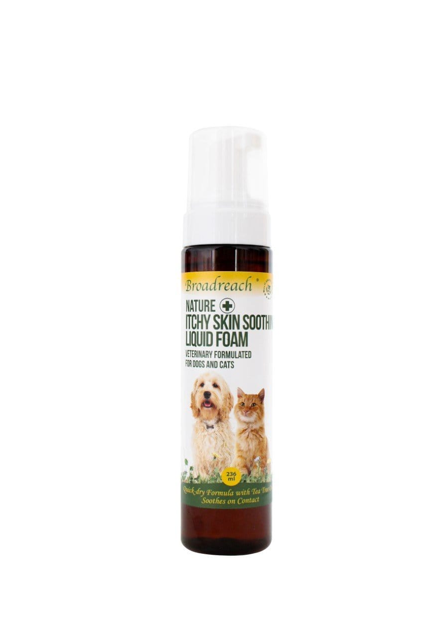 Broadreach Grooming Itchy Skin Soothing Liquid Foam 236ml Itchy Skin Soothing Liquid Foam 236ml