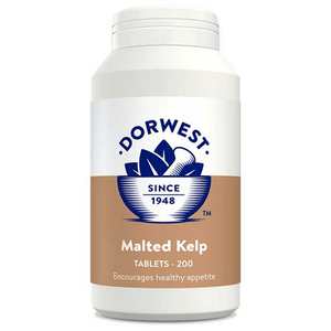 Dorwest Supplements Malted Kelp Tablets For Dogs And Cats 200 Tablets 5 060183510104 MK200