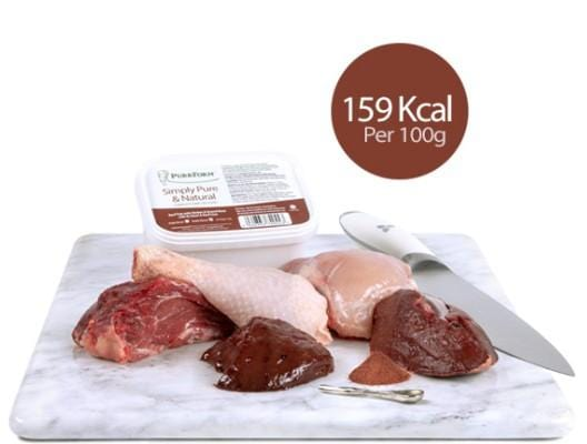 Purrform Cat Food Minced Beef trim with chicken, ground bone, ox heart & beef liver (Adult Cat) 450g Tub Minced Beef trim with chicken, ground bone, ox heart & beef liver (Adult Cat) 450g Tub