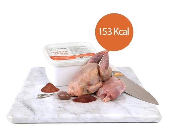 Purrform Cat Food Minced Quail & Farmed Rabbit and Ground Bone with Rabbit Liver & Kidney (Kitten) 450g x Minced Quail & Farmed Rabbit and Ground Bone with Rabbit Liver & Kidney (Kitten) 450g