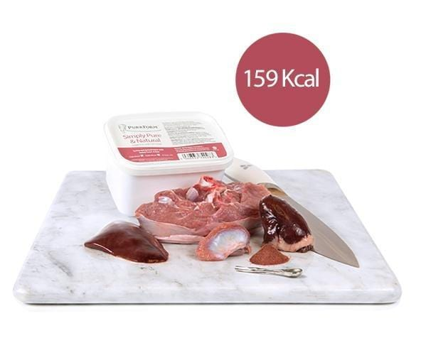 Purrform Cat Food Minced Turkey and Ground Bone with Turkey Heart & Liver (Adult Cat) 1 x 450g Minced Turkey and Ground Bone with Turkey Heart & Liver (Adult Cat) 1 x 450g