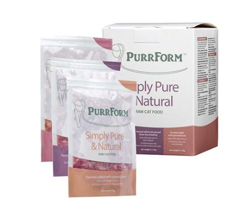 Purrform Cat Food Mixed box 001 (Adult Cat)  6 x 70g Pouches Mixed box 001 (Adult Cat)  6 x 70g Pouches