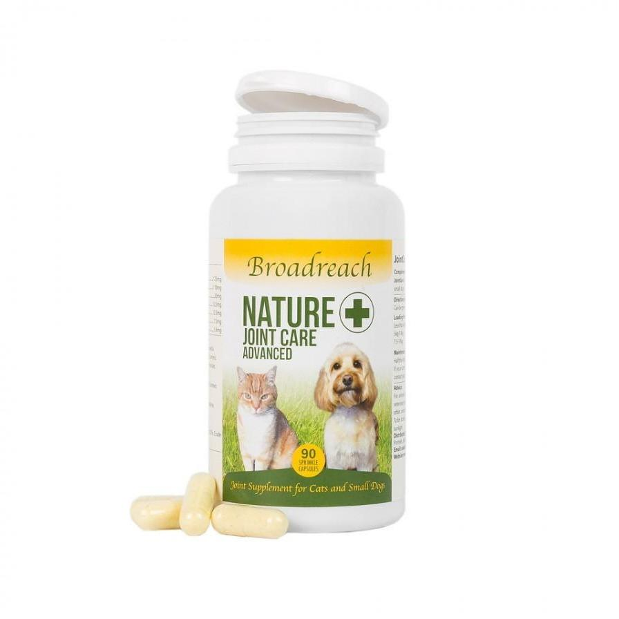 Broadreach Supplements NATURE + JOINT CARE SMALL DOG AND CAT (90 CAPS) ADVANCED NATURE + JOINT CARE SMALL DOG AND CAT (90 CAPS) ADVANCED