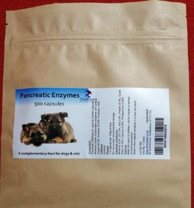 Chemeyes Supplements Pancreatic Enzyme Capsules Eco Pack 500 Capsules Pancreatic Enzyme Capsules Eco Pack 500 Capsules