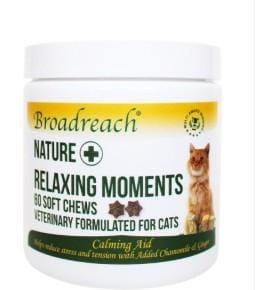 Broadreach Supplements Relaxing Moments for Cats - 60 soft chews Relaxing Moments for Cats