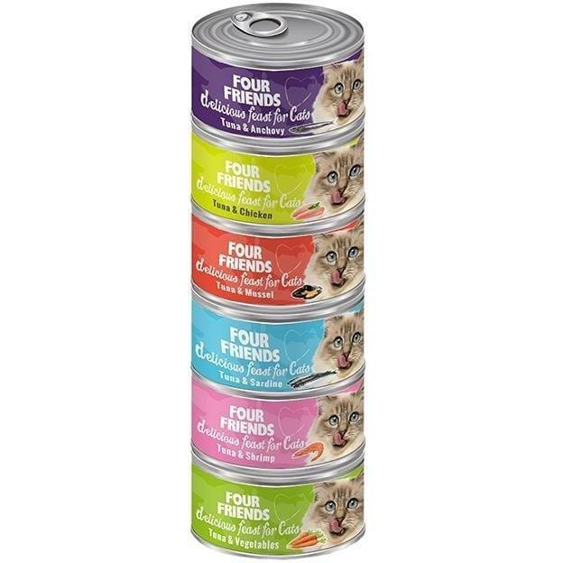 Four Friends Cat Food TUNA & CHICKEN CAT FOOD x 24 CF BOX