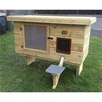 "Shedcetra Sheds The Flo Cat House 40""x20""x20"" The Flo Cat House"