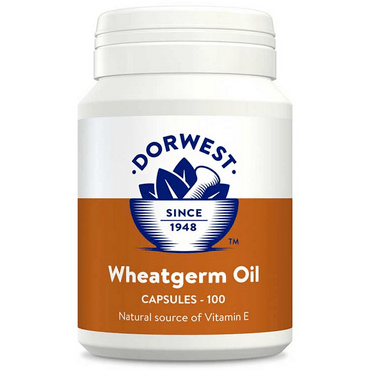 Dorwest Supplements Wheatgerm Oil Capsules For Dogs And Cats 100 Capsules 5 060183510616 WGO100
