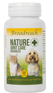 Broadreach Supplements Joint Care Advanced for Small Dogs, Cats, Puppies and Kittens – 90 sprinkle capsules Advanced Small Joint Care - 90 capsules