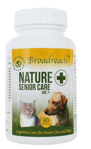 Broadreach Supplements Senior Care 7+ for Dogs and Cats – 90 sprinkle capsules Senior Care - 90 capsules