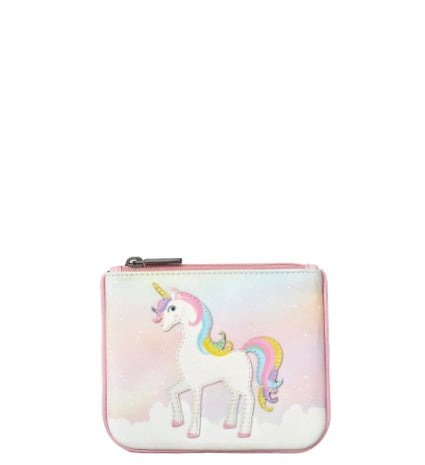 Ophelia The Unicorn Zip Top Purse