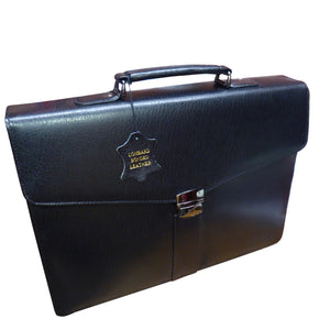 Traditional Leather Briefcase