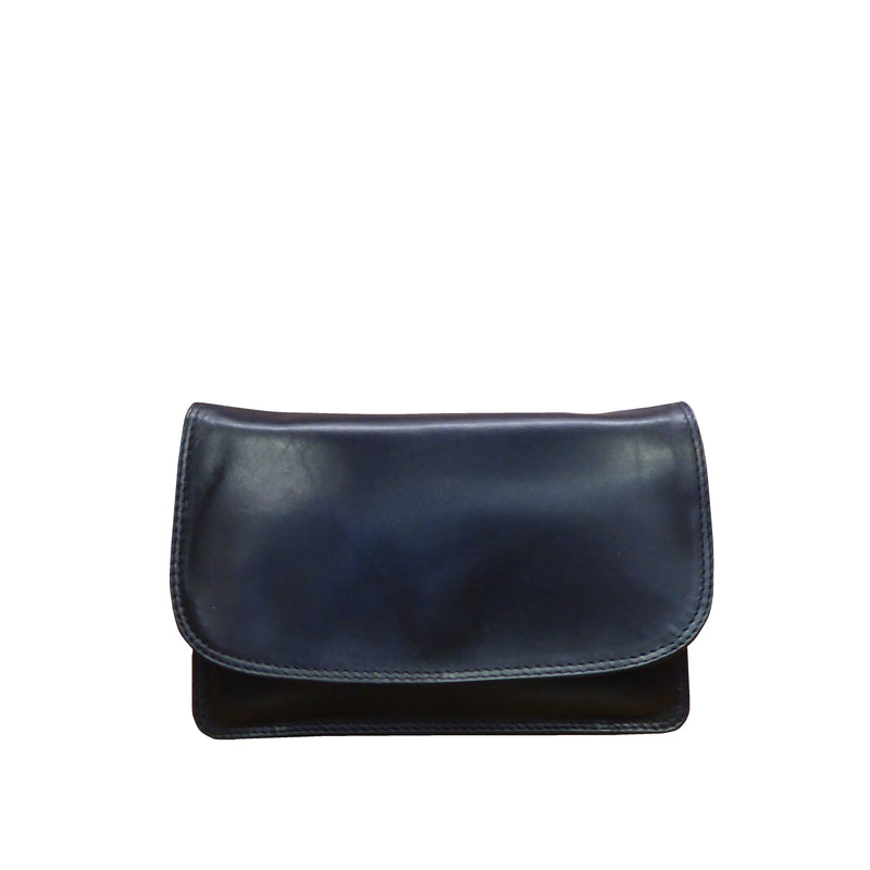 Nova Leather Clutch Bag