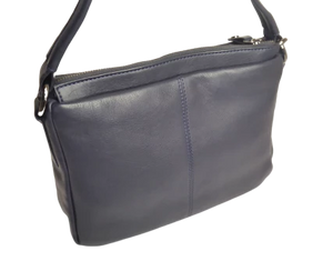 Zip Top Short Shoulder Bag