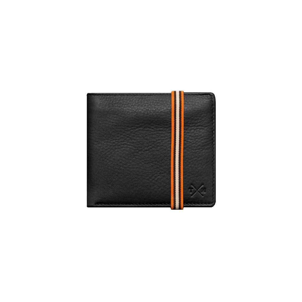 Newton Leather East West Elastic Wallet